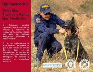 Diplomado K-9: Guías mas seguros y perros mas confiables